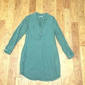 {Kenneth Cole}Green Lightweight Shift Dress size S